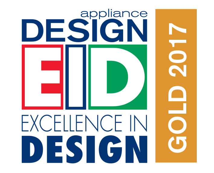 Excellent in Design Gold Award from Appliance Design