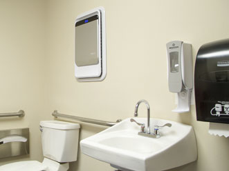 AeraMax Professional w toaletach w przedsiębiorstwach