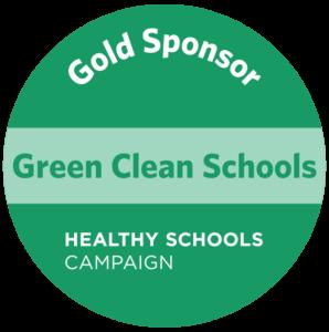 Gold Sponsor of Green Clean Schools Initiative