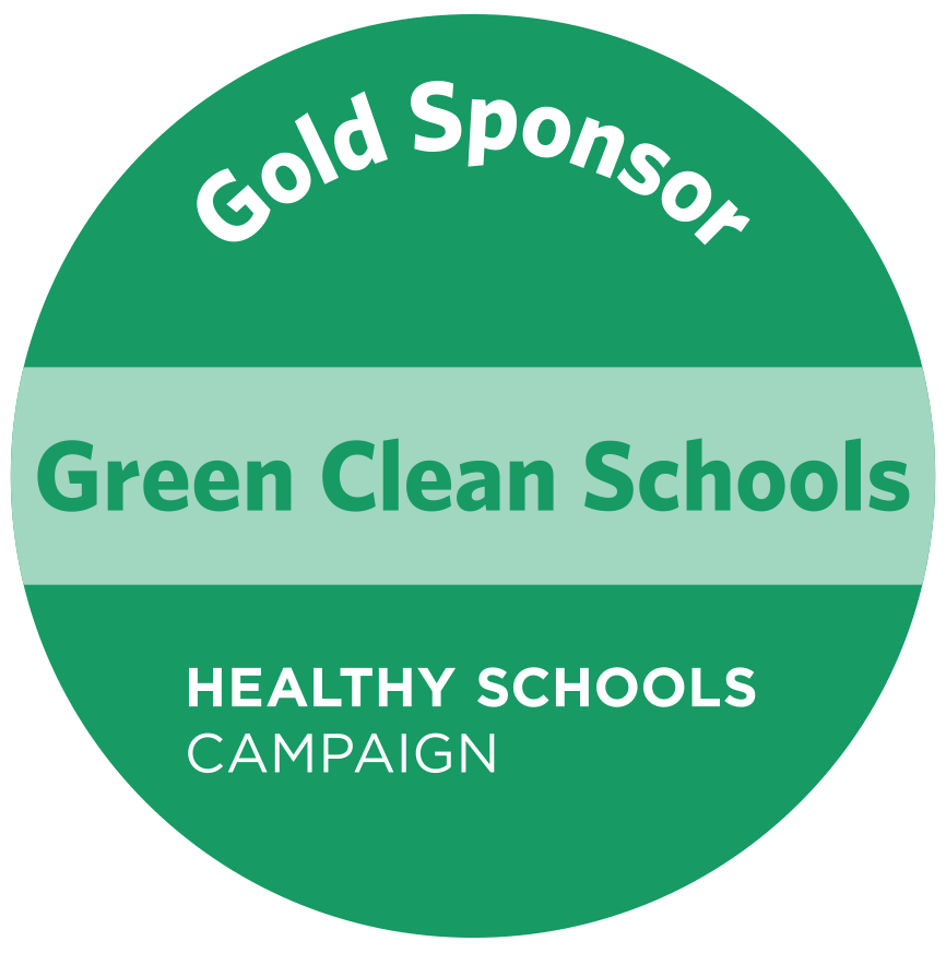 Gold Sponsor of Green Clean Schools Initiative