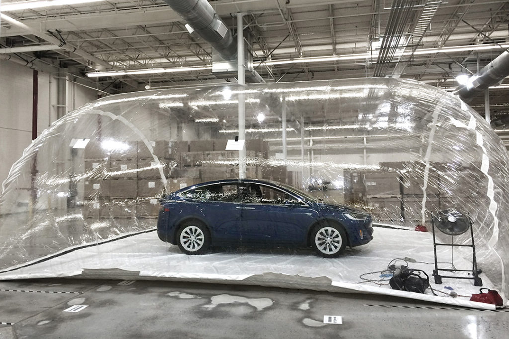 Tesla's Air Filtration System uses the same kinds of filters as AeraMax Professional
