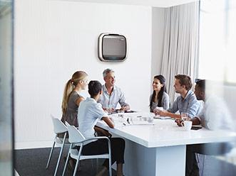AeraMax Pro en las salas de reuniones