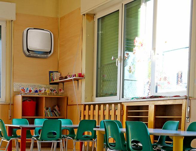 Aeramax Pro in Classrooms