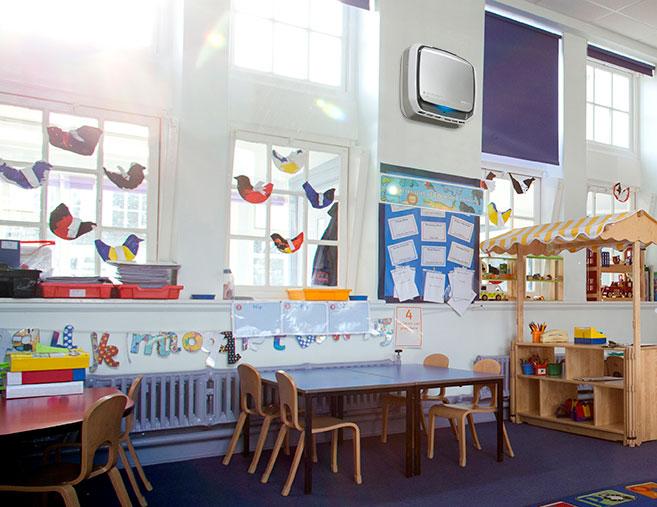 Aeramax Pro in Classroom