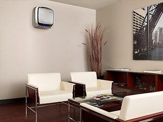 Az AeraMax Pro váróhelyiségekben