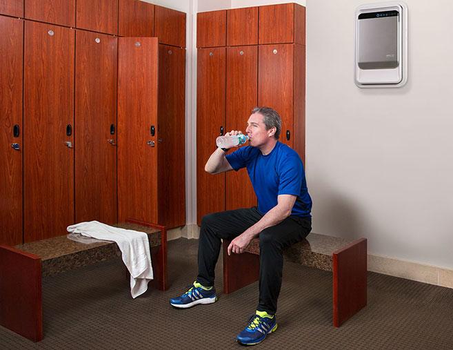 Aeramax Pro i träningslokaler