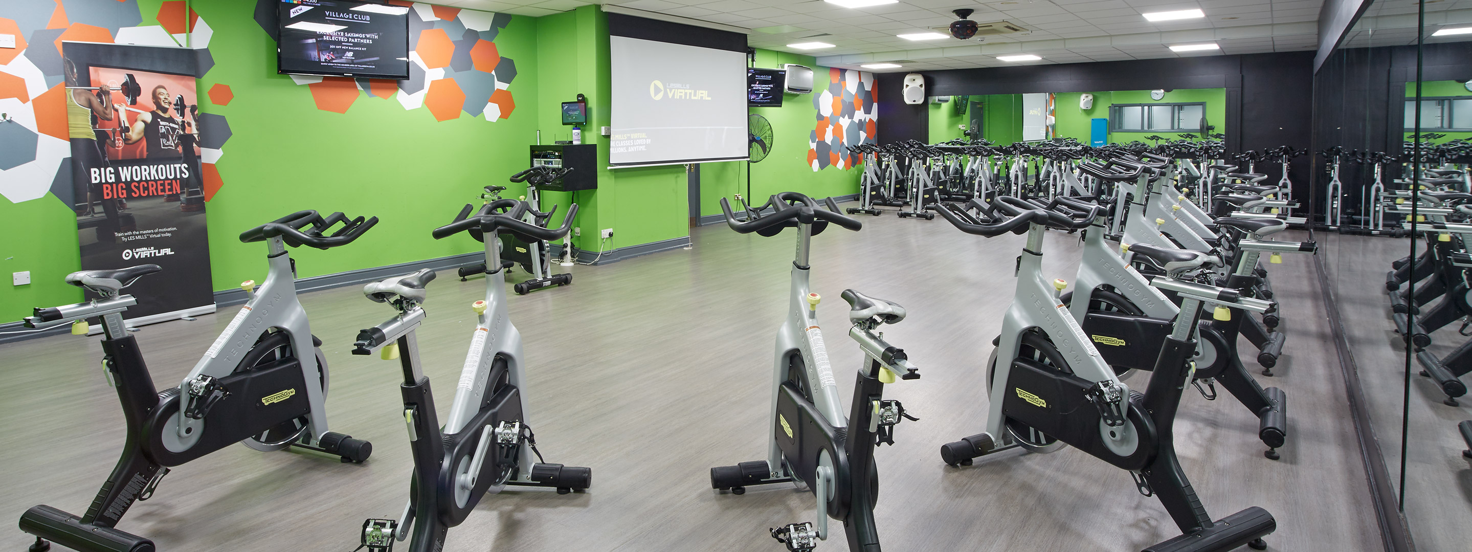 Make your gym shine with clean air in your group classes. It keeps the
