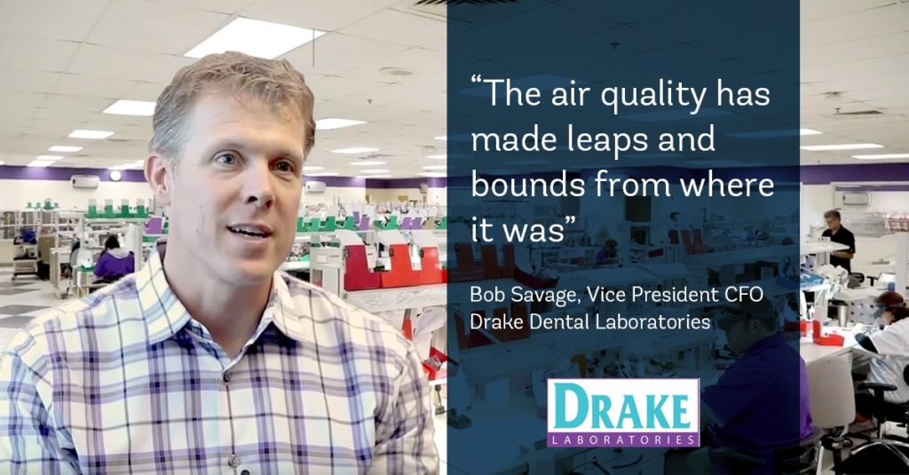 Bob Savage explains the difference Aeramax Professional made in Drake Dental Laboratories