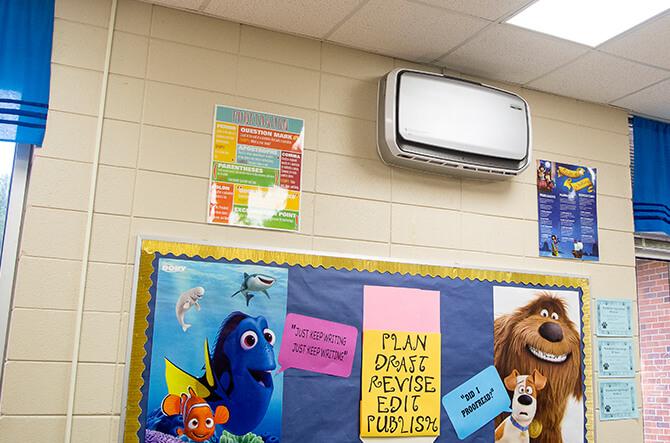 Classroom with Aeramax Pro